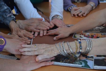 Compartimos en la Residencia de Ancianos