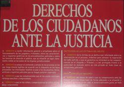 derechos de los ciudadanos ante la justicia