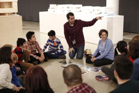 Sesión de Empower Parents en el Museo ICO, Madrid